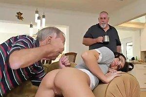 Young Girl Old Man Handjob Blonde Amateur Natural Tits Fuck Riding The
