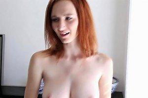 Redhead Teen Presents Her Incredible Figure