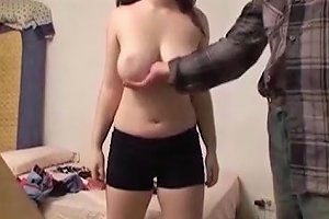 Casting With A Young Chubby Girl And Cumshot In Her