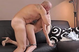 Old Man Creampie HD And Grandma XXX Horny Platinumblonde Wants To Attempt Someone Lil